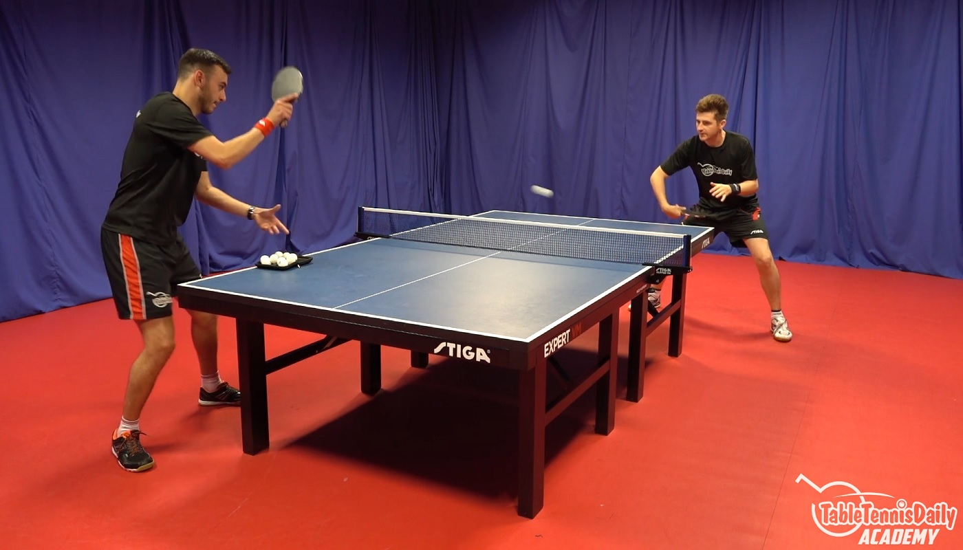 The Backhand Counter Topspin Tabletennisdaily Academy