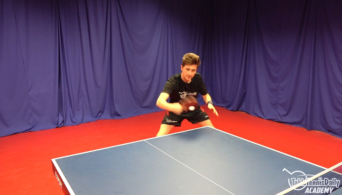 The Backhand Topspin Tabletennisdaily Academy