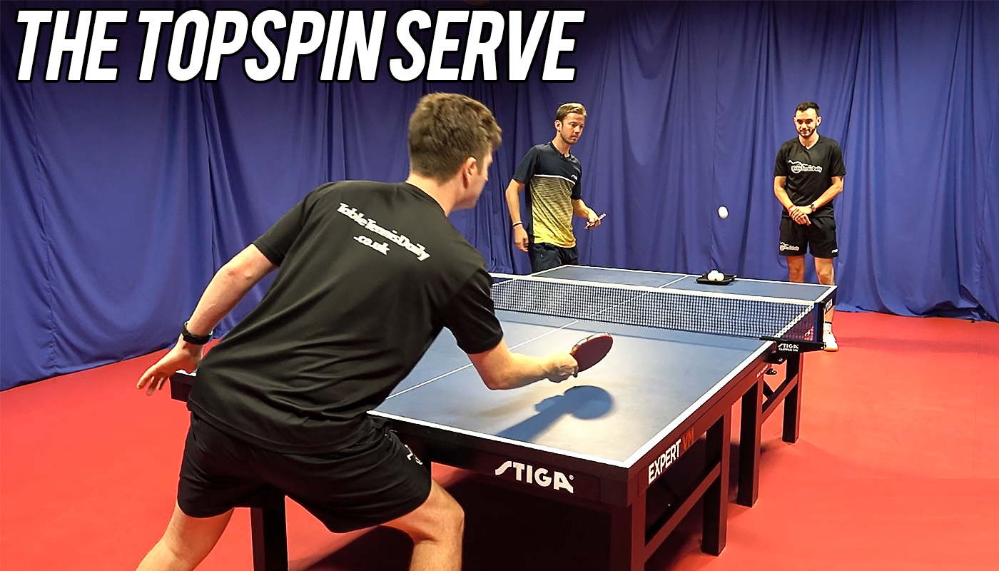 How To Do The Topspin Serve With Par Gerell Tabletennisdaily Academy