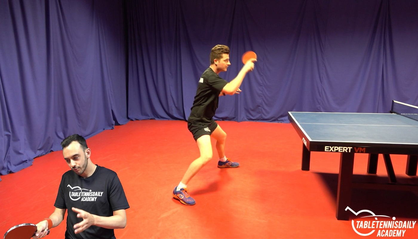 Advanced Use Of The Wrist In The Forehand Topspin Tabletennisdaily Academy