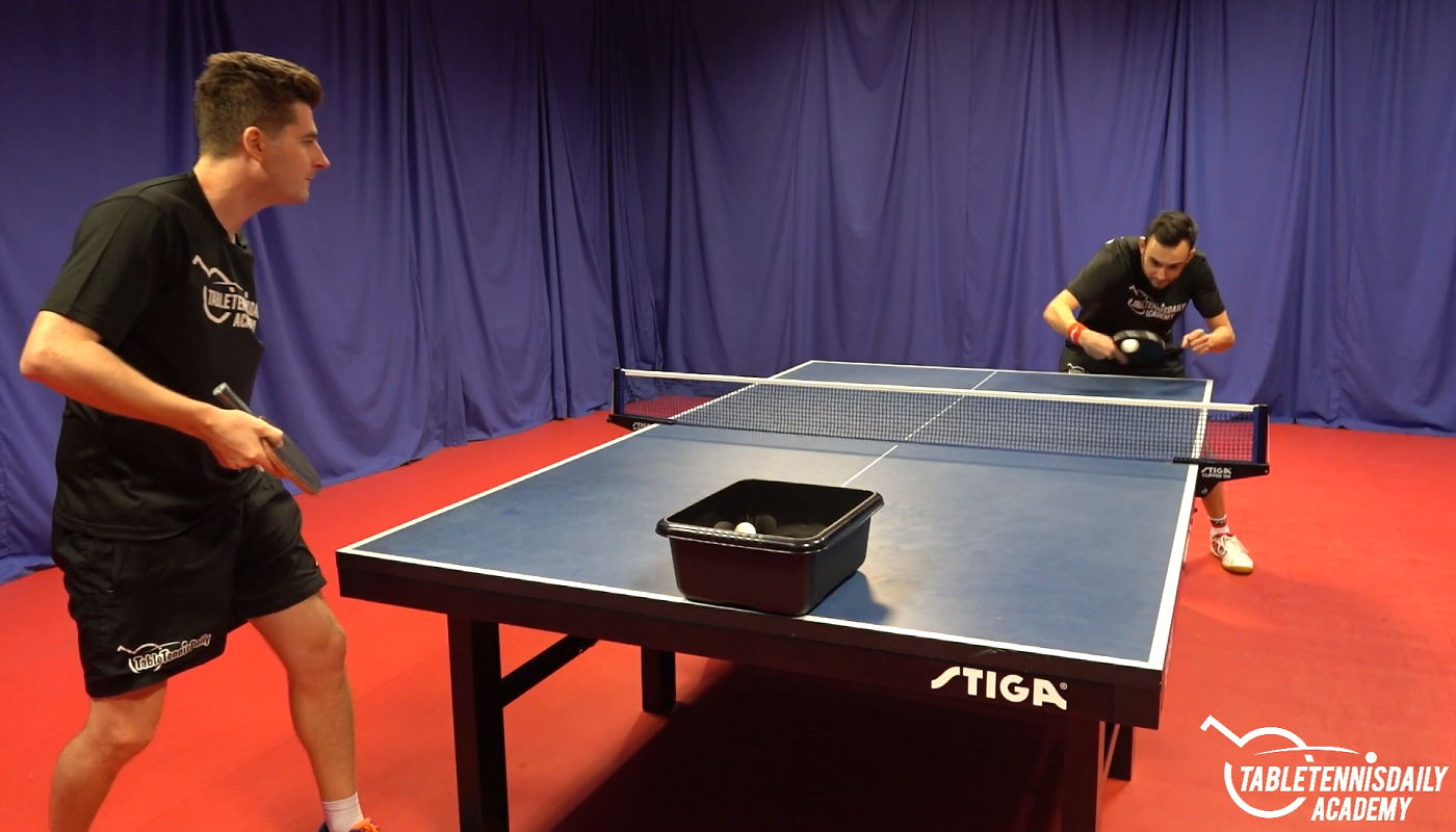 The Differences In Returning Side Topspin And Side Backspin Serves Tabletennisdaily Academy